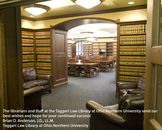 Taggart Law Library at Ohio Northern University.